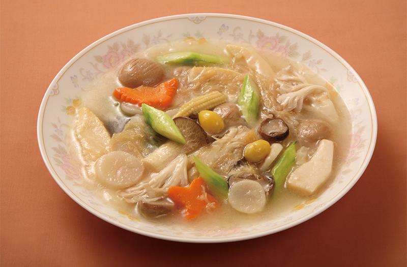 干貝柱と野菜の煮込み(塩味)
