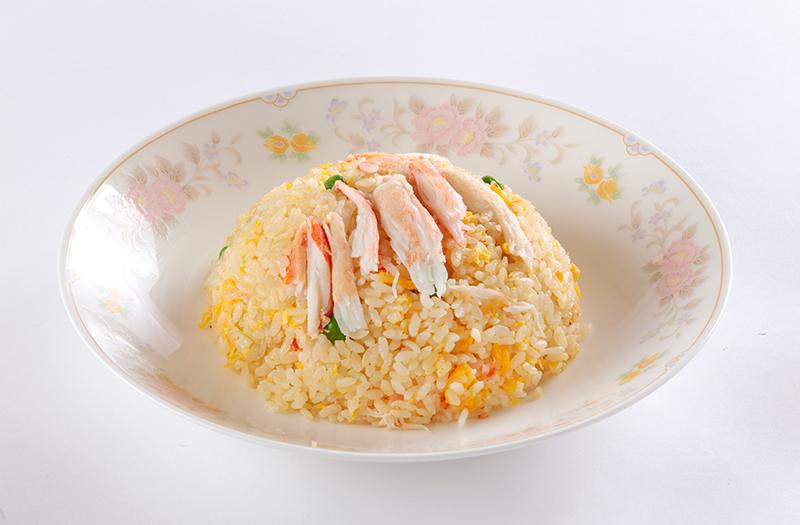 蟹肉炒飯|カニチャーハン