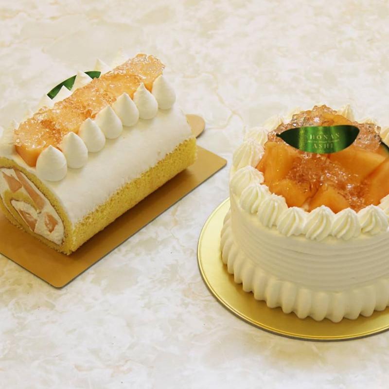 クインシーメロンケーキ<br>5/11~販売スタート