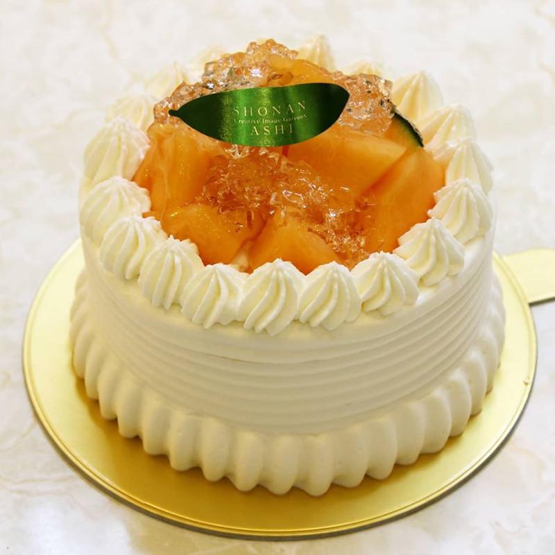 クインシーメロンケーキ<br>販売スタート